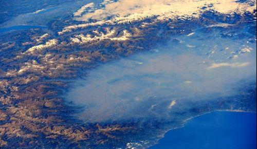 Pianura Padana assalita e sommersa da smog e polveri sottili
